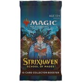 Magic The Gathering Strixhaven: School of Mages Collector Booster Pack