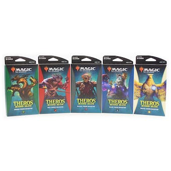 Magic the Gathering Theros Beyond Death Theme Booster - Set of 5