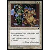 Magic the Gathering Tempest Single Humility - MODERATE PLAY (MP)