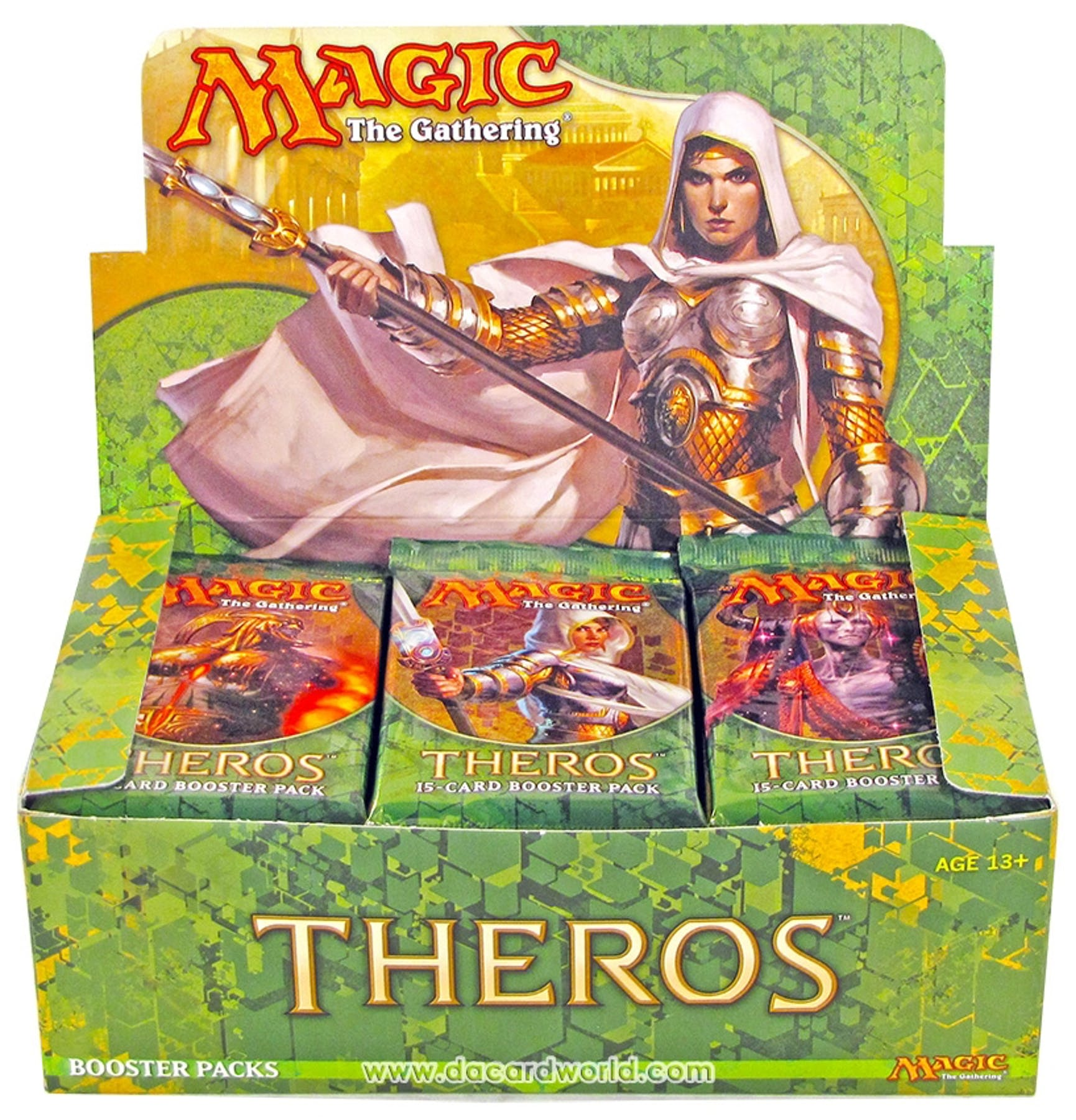 Magic The Gathering Theros Booster 6 Box Case Da Card World