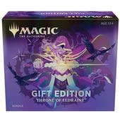 Magic the Gathering Throne of Eldraine Holiday Gift Bundle Box