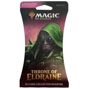 Magic the Gathering Throne of Eldraine Collector Booster Pack