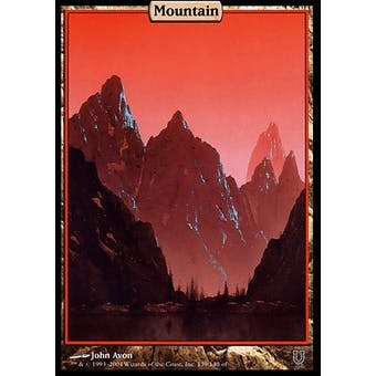 Magic the Gathering Unhinged Single Basic Mountain FOIL - NEAR MINT (NM)