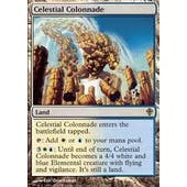 Magic the Gathering Worldwake Single Celestial Colonnade - MODERATE PLAY (MP)
