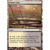 Magic the Gathering Zendikar Single Marsh Flats - MODERATE PLAY (MP)