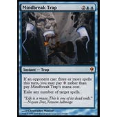 Magic the Gathering Zendikar Single Mindbreak Trap FOIL - SLIGHT PLAY (SP)