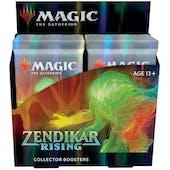 Magic the Gathering Zendikar Rising Collector Booster Box (Presell)