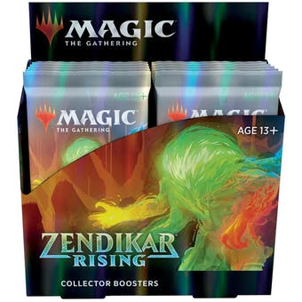 Magic the Gathering Zendikar Rising Collector Booster Box - DACW Live 8 Spot Break #4