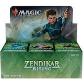 Magic the Gathering Zendikar Rising Draft Booster 6-Box Case (Presell)
