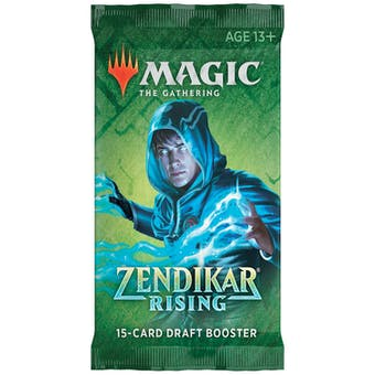 Magic the Gathering Zendikar Rising Draft Booster Pack
