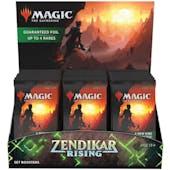 Magic the Gathering Zendikar Rising Set Booster 6-Box Case (Presell)