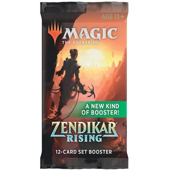Magic the Gathering Zendikar Rising Set Booster Pack