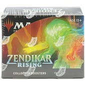 Magic the Gathering Zendikar Rising Collector Booster Box
