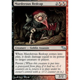 Magic the Gathering Shadowmoor Single Murderous Redcap Foil