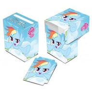 Ultra Pro My Little Pony Rainbow Dash Blue Full View Deck Box