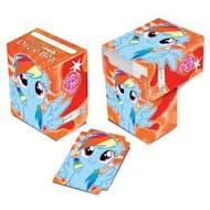 Ultra Pro My Little Pony Rainbow Dash Orange Full View Deck Box
