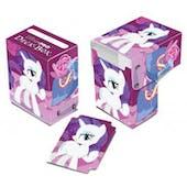 Ultra Pro My Little Pony Rarity Pink Full View Deck Box