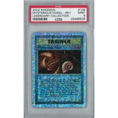 Pokemon Legendary Collection Reverse Foil Mysterious Fossil 109/110 PSA 9