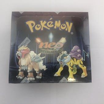 Pokemon Neo 3 Revelation 1st Edition Booster Box WOTC - PRISTINE INVESTMENT QUALITY
