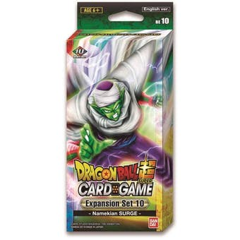 Dragon Ball Super TCG Expansion Set #10 - Namekian Surge Pack (Presell)