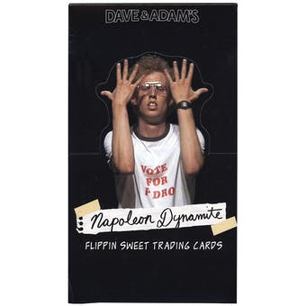 HUGE Napoleon Dynamite Flippin Sweet Trading Cards Box Lot - $36,000+ SRP! 500+ Boxes!