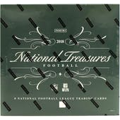 2018 Panini National Treasures Football Hobby Box