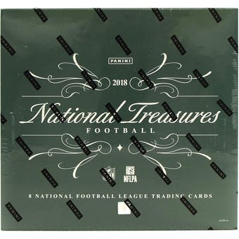 2018 Panini National Treasures Football 4-Box Case- DACW Live 32 Spot Pick Your Team Break #4