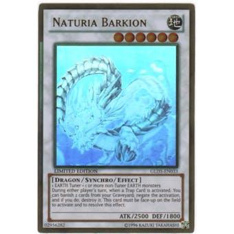 Yu-Gi-Oh Gold Series 5 Single Naturia Barkion Ghost Rare
