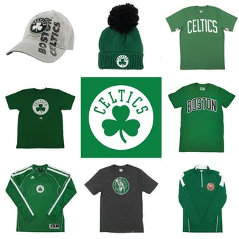 Boston Celtics Officially Licensed NBA Apparel Liquidation - 960+ Items, $28,900+ SRP!