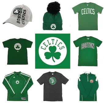 Boston Celtics Officially Licensed NBA Apparel Liquidation - 960+ Items, $28,900+ SRP!
