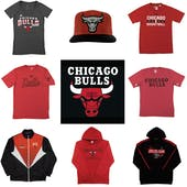 Chicago Bulls Officially Licensed NBA Apparel Liquidation - 1,260+ Items, $50,600+ SRP!