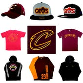 Cleveland Cavaliers Officially Licensed NBA Apparel Liquidation - 370+ Items, $13,000+ SRP!