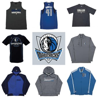 Dallas Mavericks Officially Licensed NBA Apparel Liquidation - 410+ Items, $30,000+ SRP!