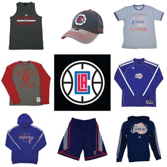 Los Angeles Clippers Officially Licensed NBA Apparel Liquidation - 1,260+ Items, $42,900+ SRP!