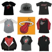 Miami Heat Officially Licensed NBA Apparel Liquidation - 710+ Items, $24,300+ SRP!