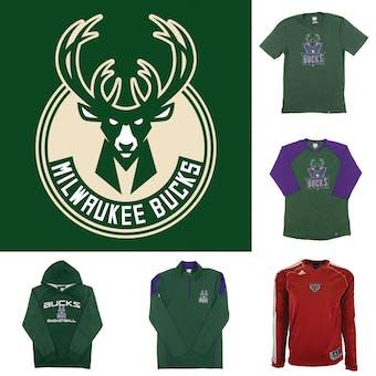 Milwaukee Bucks Officially Licensed NBA Apparel Liquidation - 210+ Items, $11,600+ SRP!