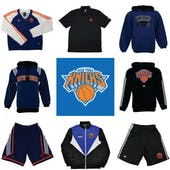 New York Knicks Officially Licensed NBA Apparel Liquidation - 1,180+ Items, $54,000+ SRP!