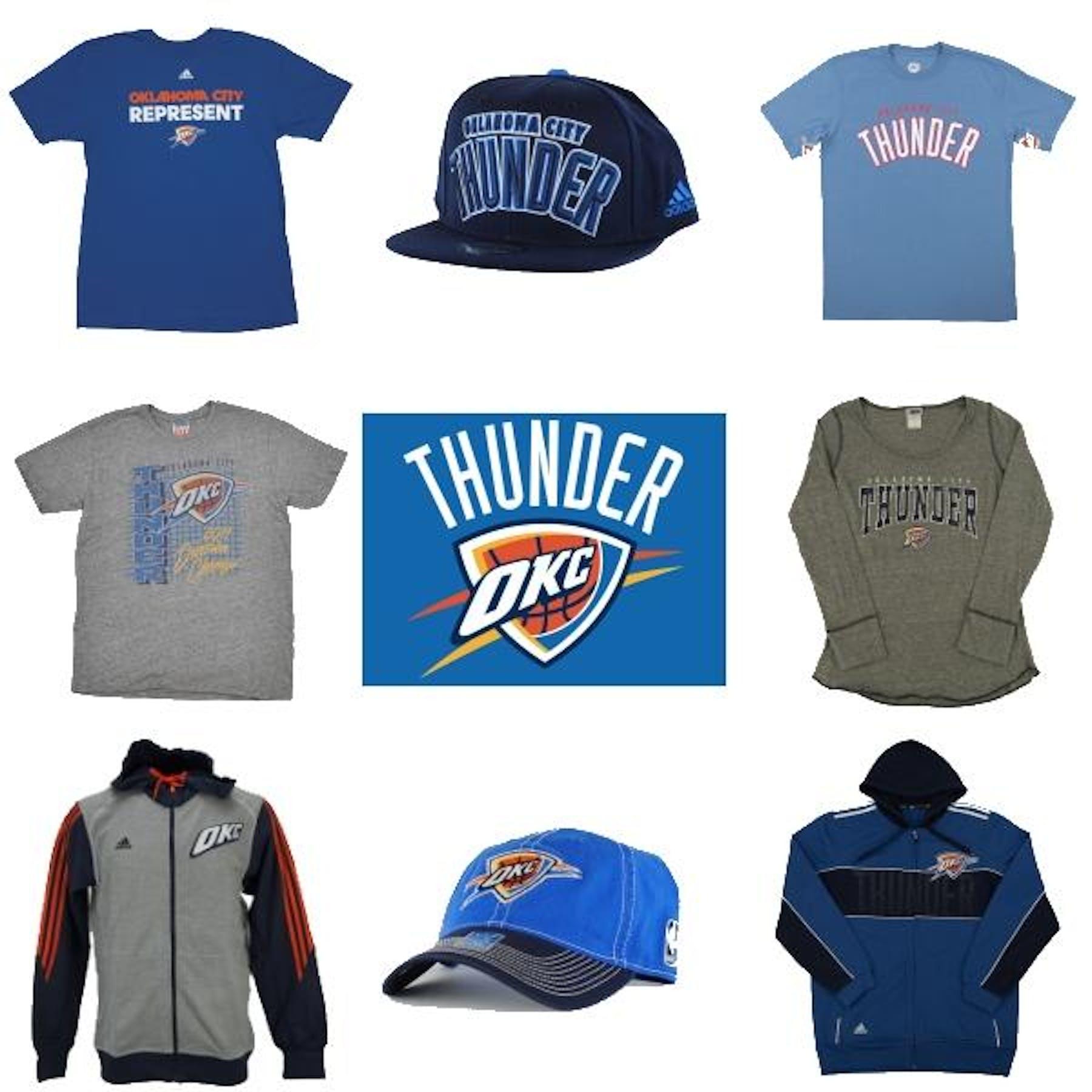 on sale 67667 6d9ea Oklahoma City Thunder Officially Licensed NBA Apparel Liquidation - 860+  Items, $24,000+ SRP!