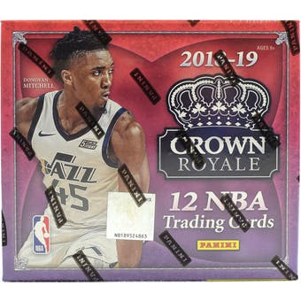 2018/19 Panini Crown Royale Basketball 16-Box Case- New Year 30 Spot Pick Your Team Break #2