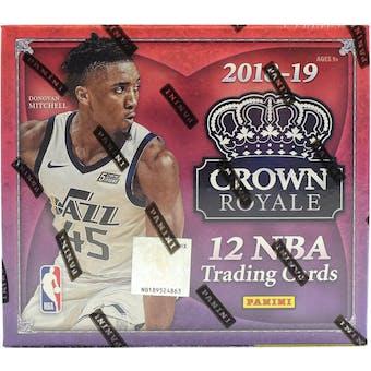 2018/19 Panini Crown Royale Basketball 16-Box Case- New Year 30 Spot Pick Your Team Break #1