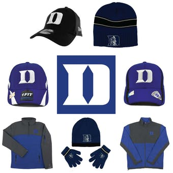 Duke Blue Devils Officially Licensed NCAA Apparel Liquidation - 300+ Items, $19,000+ SRP!
