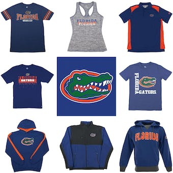 Florida Gators Officially Licensed NCAA Apparel Liquidation - 340+ Items, $15,000+ SRP!