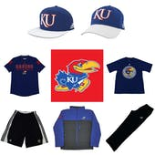 Kansas Jayhawks Officially Licensed NCAA Apparel Liquidation - 1,700+ Items, $54,600+ SRP!