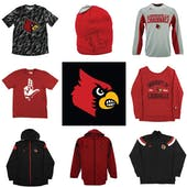 Louisville Cardinals Officially Licensed NCAA Apparel Liquidation - 650+ Items, $19,200+ SRP!