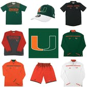 Miami Hurricanes Officially Licensed NCAA Apparel Liquidation - 1,100+ Items, $58,600+ SRP!