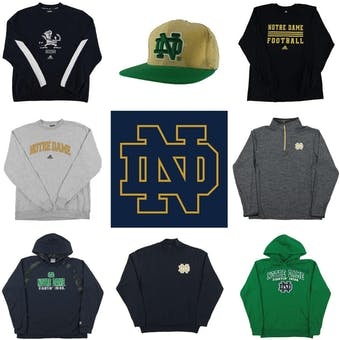 Notre Dame Fighting Irish Officially Licensed NCAA Apparel Liquidation - 2,920+ Items, $91,200+ SRP!