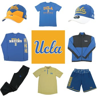 UCLA Bruins Officially Licensed NCAA Apparel Liquidation - 920+ Items, $32,800+ SRP!