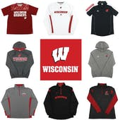 Wisconsin Badgers Officially Licensed NCAA Apparel Liquidation - 620+ Items, $25,200+ SRP!