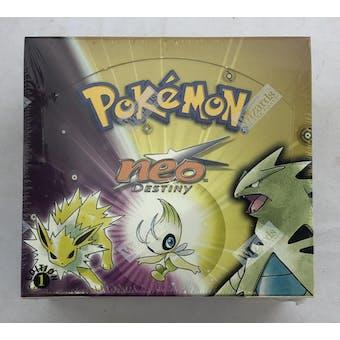 Pokemon Neo 4 Destiny 1st Edition Booster Box (C) - INVESTMENT QUALITY!