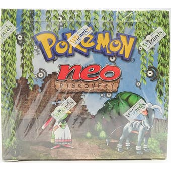 Pokemon Neo 2 Discovery 1st Edition Booster Box WOTC